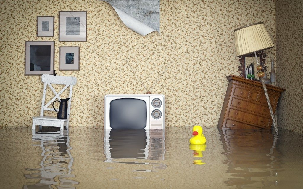 flooding inside home