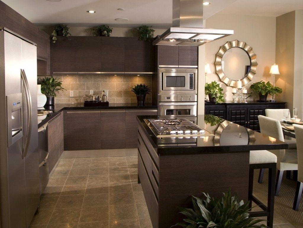 Modern kitchen interiori