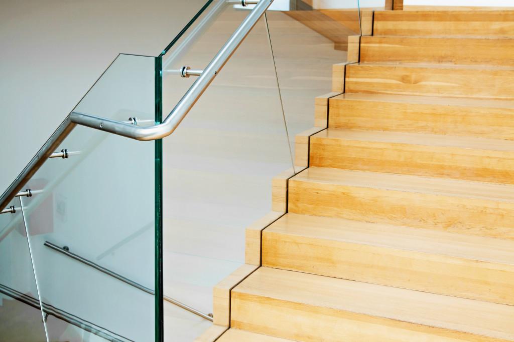 simplistic stairs